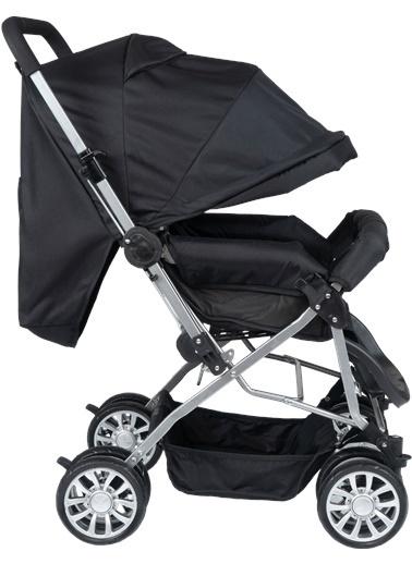 ESY LİNE Esy Line Çift Yönlü Bebek Arabası Gümüş-Siyah Gümüş